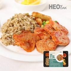 씨앗귀리밥&닭가슴살동그랑땡 잡곡밥 도시락