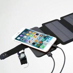 태양광 스마트폰 충전기 보조배터리_(161378)