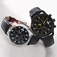 피닉스 남성시계 남자시계 가죽시계 손목시계 ME-302F_(1338236)