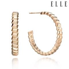 14K 동글 포인트 링 귀걸이 (gold pin) ELGPEE286_(990143)