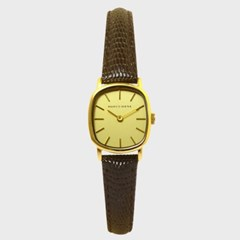 [MARCO SIENA] 마르코시에나 여성시계 MS0501GA 가죽밴드 손목시계