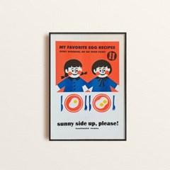 써니사이드업 리소 포스터 (A3)
