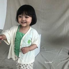 러)풍선 아동 가디건