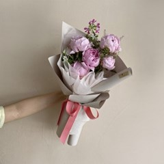 [생화] 사라 작약 sarah  꽃다발 (택배불가능)