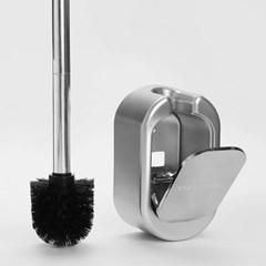 스텐 화장실 욕실 청소솔 벽걸이 변기솔