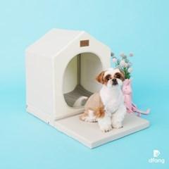 디팡 펫플레이하우스 프리미엄 - 라이트그레이 / 강아지집