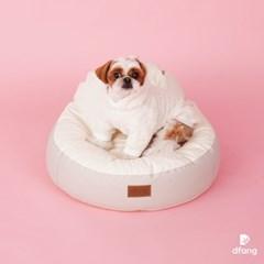 디팡 펫플레이빈백 - 라이트그레이 S / 강아지방석