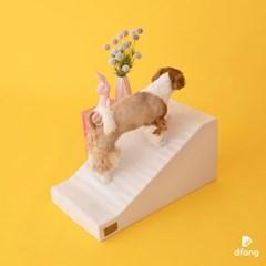 디팡 슬라이드스텝 - 라이트 그레이 / 강아지계단