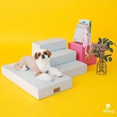 디팡 펫플레이스텝 - 블루 그레이 / 강아지계단