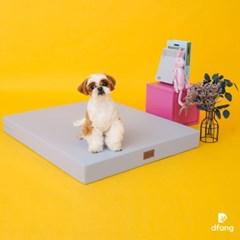 디팡 펫플레이 베이스포트1단 - 블루 그레이 / 강아지계단