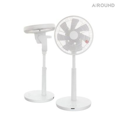 어라운드 코드리스 충전식 선풍기 AR-A25DB