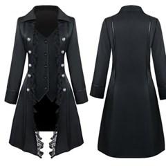 레이스연미복-여성용-블랙 파티룩 무대의상