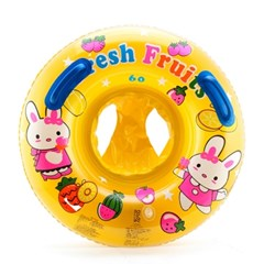 3∼5세보행기튜브(55cm) 아기 노랑 물놀이용품