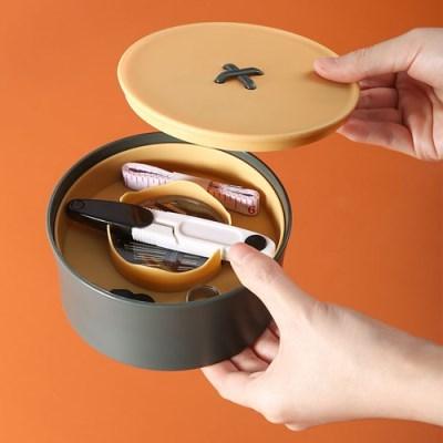모던 원형 반지고리함 1개(색상랜덤)