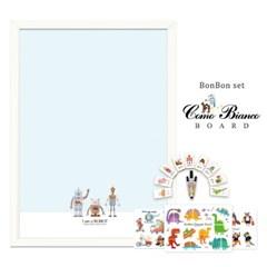[꼬메모이]꼬모비앙코 아이엠로봇 M 봉봉퍼즐3종 세트P1 / 칠판 자석