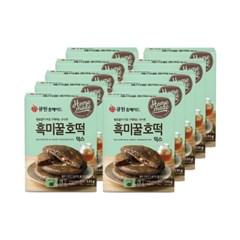(박스특가/10개입) 큐원 소용량 흑미꿀호떡믹스 133g 10_(1817131)