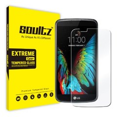 솔츠 LG K10용 강화유리 필름 방탄 액정보호