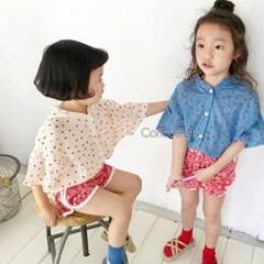꽁)동그랑땡 아동 후드점퍼