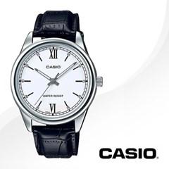 CASIO 카시오 MTP-V005L-7B2 남성시계 가죽밴드 손목시계