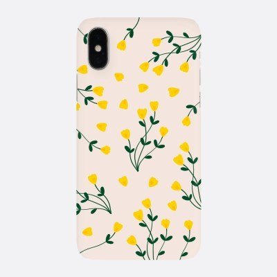노랑 들꽃 하드케이스