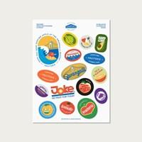 [FRUiTERiE] 과일 스티커 - FRUiT STiCKERS