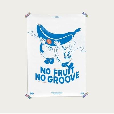 [FRUiTERiE] 포스터 - NO FRUiT NO GROOVE