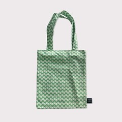 80's green flower mini bag