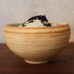 우디 세라믹 밥그릇 국그릇 식기 도자기그릇