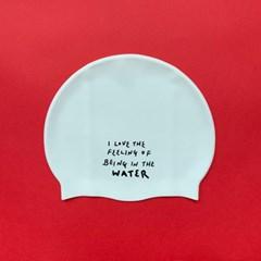 [풀부이클럽] LOVE THE WATER 수영모자