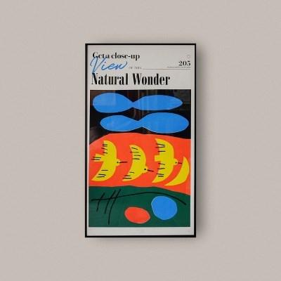 내츄럴원더 실크스크린 프레임 (450x800mm)