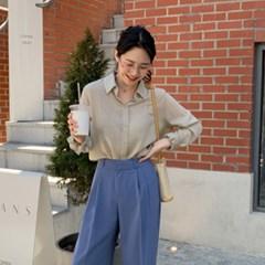 아사코튼 심플베이직셔츠(5color)