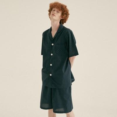 (m) Blackwatch Short Pajama Set