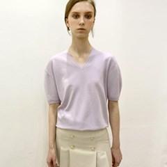 코쿤 퍼플 캐시미어 니트 _ Cocoon Purple Cashmere Knit