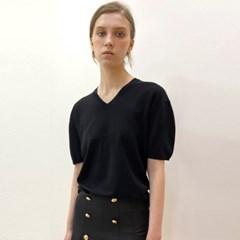 코쿤 블랙 캐시미어 니트 _ Cocoon Black  Cashmere Knit