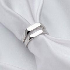 에르모사제이 실버925 커플링 은 반지 R020