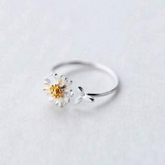 에르모사제이 실버925 꽃 은 반지 R008-실버
