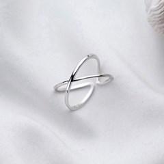 에르모사제이 실버925 레이어드 은 반지 R003-실버