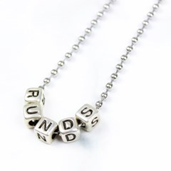 logo ballchain necklace