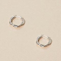 (김용지,이영은,임화영,예원착용) Twist Circle Earring