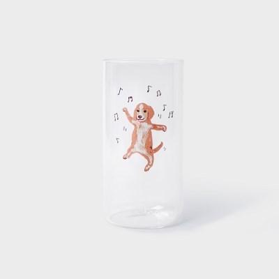 하울팟 라이프 유리컵 (B)