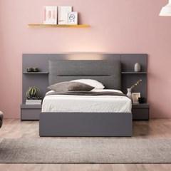 잉글랜더 카디프 LED 수납 침대(매트제외-슈퍼싱글)_(12760235)