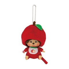 Apple Monchhichi Big Head SS Mascot Keychain