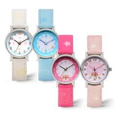 아동용시계 어린이시계 가죽시계 손목시계 TI-0038A_(1341337)
