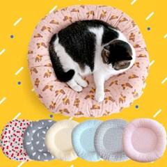 고양이방석빵떡쿠션