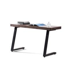 [스코나]브런슨 원목 사이드 철재 테이블_(602800385)