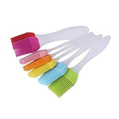 기본형 실리콘 조리솔 1개(색상랜덤)