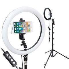 본젠 KL-120 카메라 스마트폰 LED 링라이트+LT-220 조명 스탠드 SET
