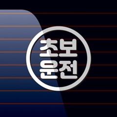 캐찹 자동차스티커 원형라인 초보운전_25