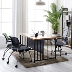 철제 회의테이블 책상 테이블 피노 1500 상담용테이블_(3054717)