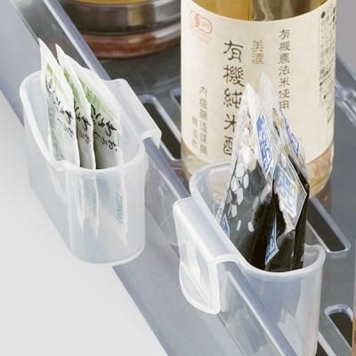 주방 냉장고 소스보관 다용도 소품정리 미니 포켓 2EA_(1208811)